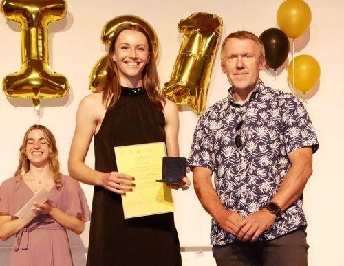 Pierre-de-Coubertin-Schulsportpreis für Jenna Fee Feyerabend